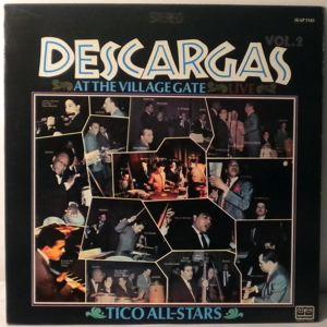 TICO ALL-STARS - Descargas At The Village Gate Live Vol. 2 - LP