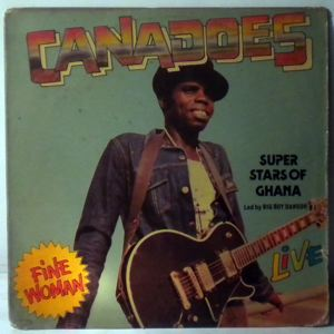 CANADOES - Fine woman - LP