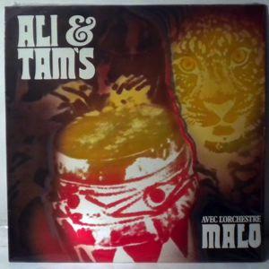 ALI & TAMS AVEC L'ORCHESTRE MALO - Avec l'orchestre Malo - 33T