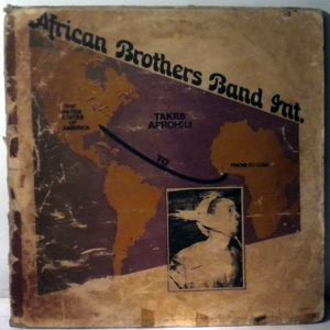 AFRICAN BROTHERS BAND INTERNATIONAL - Takes Afrohili to USA - 33T