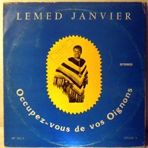 LEMED JANVIER & LES VOLCANS DU BENIN - Occupez-vous de vos oignons - LP
