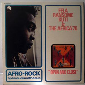 FELA KUTI & THE AFRICA 70 - Open and close - 33T