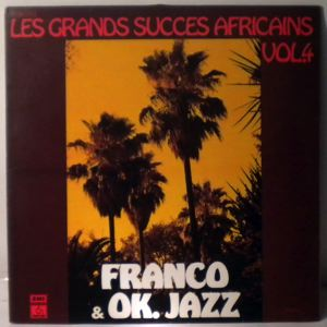 FRANCO & O.K. JAZZ - Les grands succes Africains vol.4 - LP