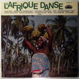 VARIOUS - L'Afrique danse N¡3 - LP