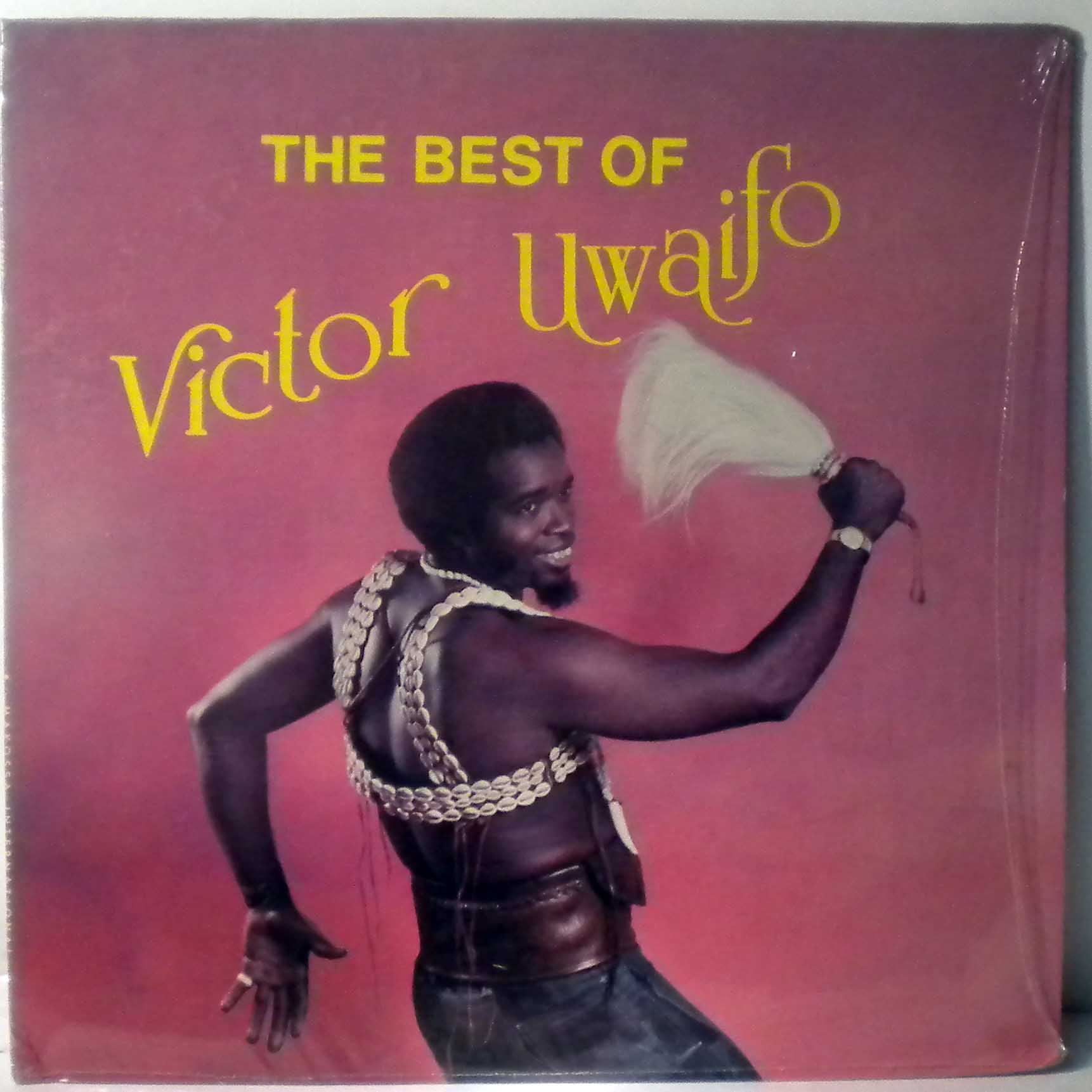 SIR VICTOR UWAIFO - The best of - LP