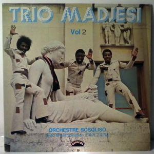 TRIO MADJESI ET ORCHESTRE SOSOLISO - Vol. 2 - LP