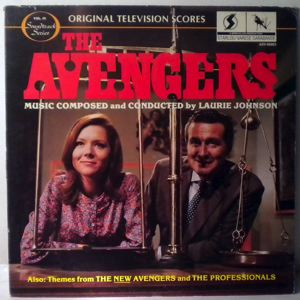 LAURIE JOHNSON - The Avengers - 33T