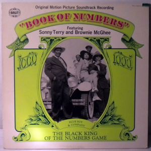 SONNY TERRY AND BROWNIE MCGHEE - Book Of Numbers - 33T