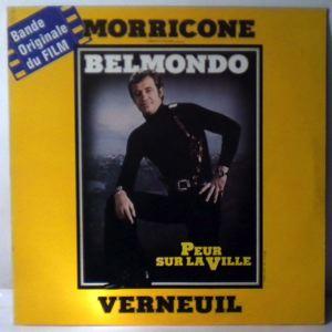 ENNIO MORRICONE - Peur Sur La Ville - 33T