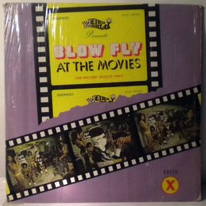 BLOWFLY - At The Movies - 33T
