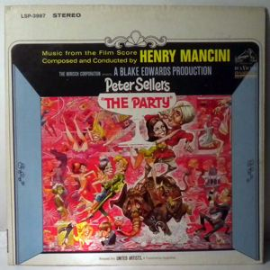 HENRY MANCINI - The Party - 33T