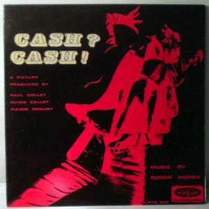 ROGER MORES - Cash? Cash! - 33T