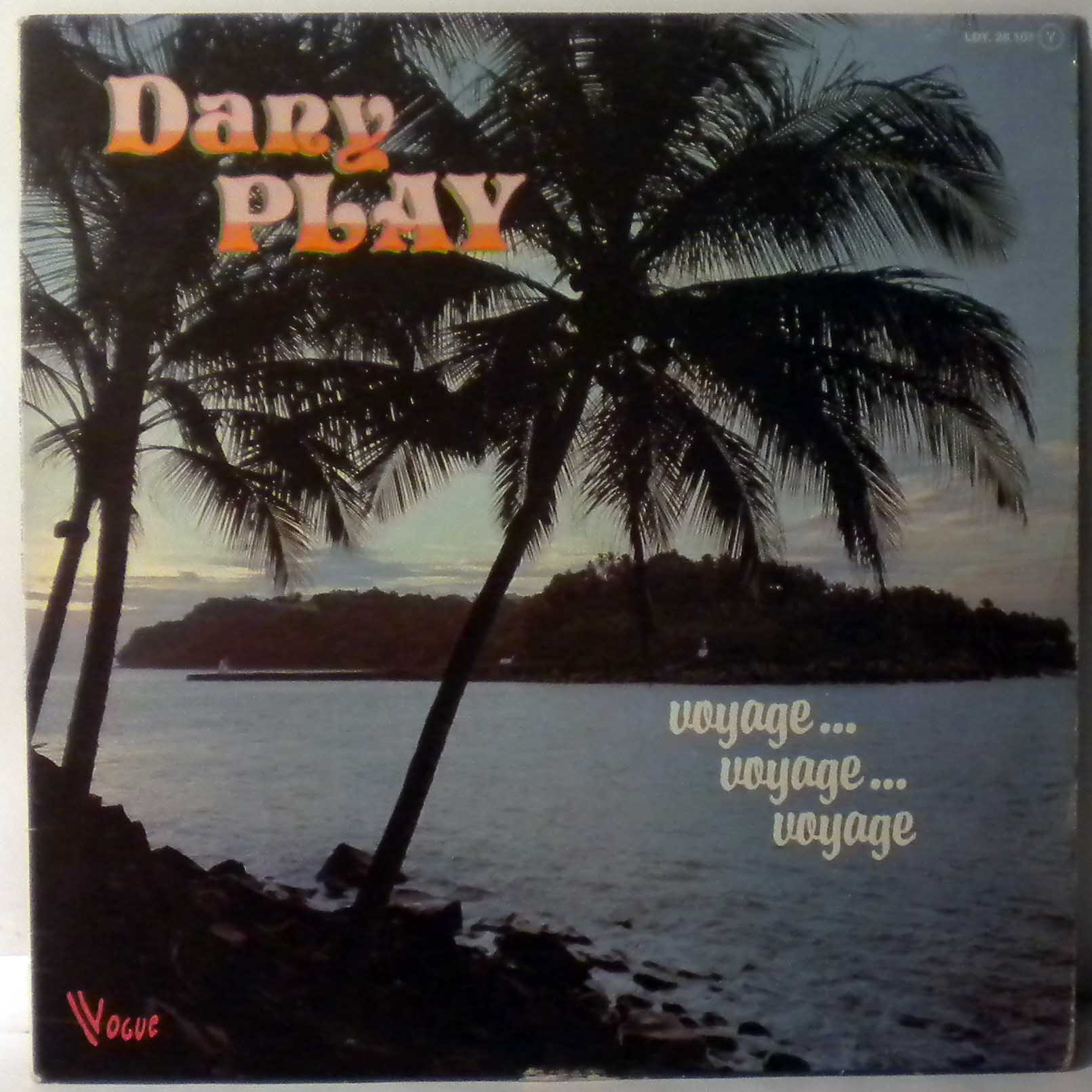 DANY PLAY - Voyage Voyage voyage - LP