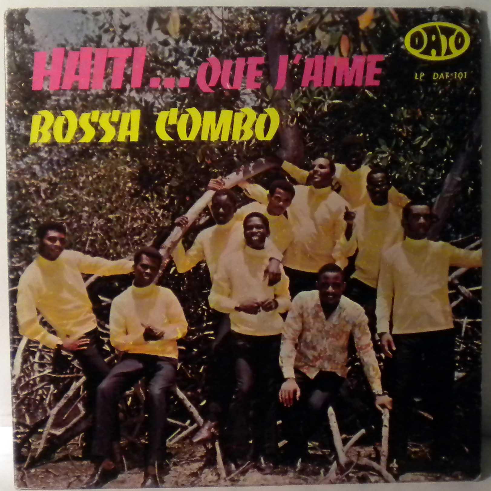 BOSSA COMBO - Haiti que je t'aime - 33T