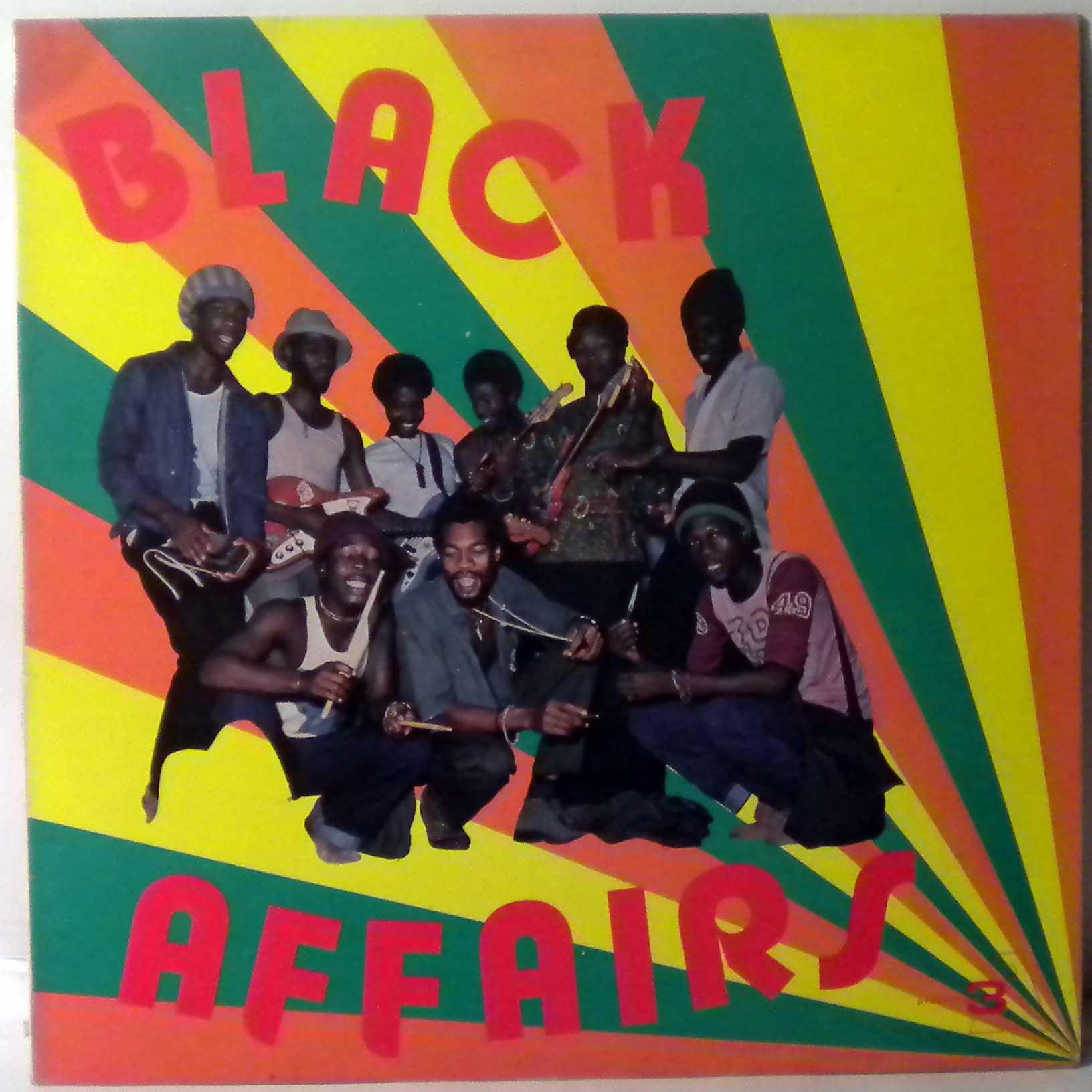 BLACK AFFAIRS - Same - LP