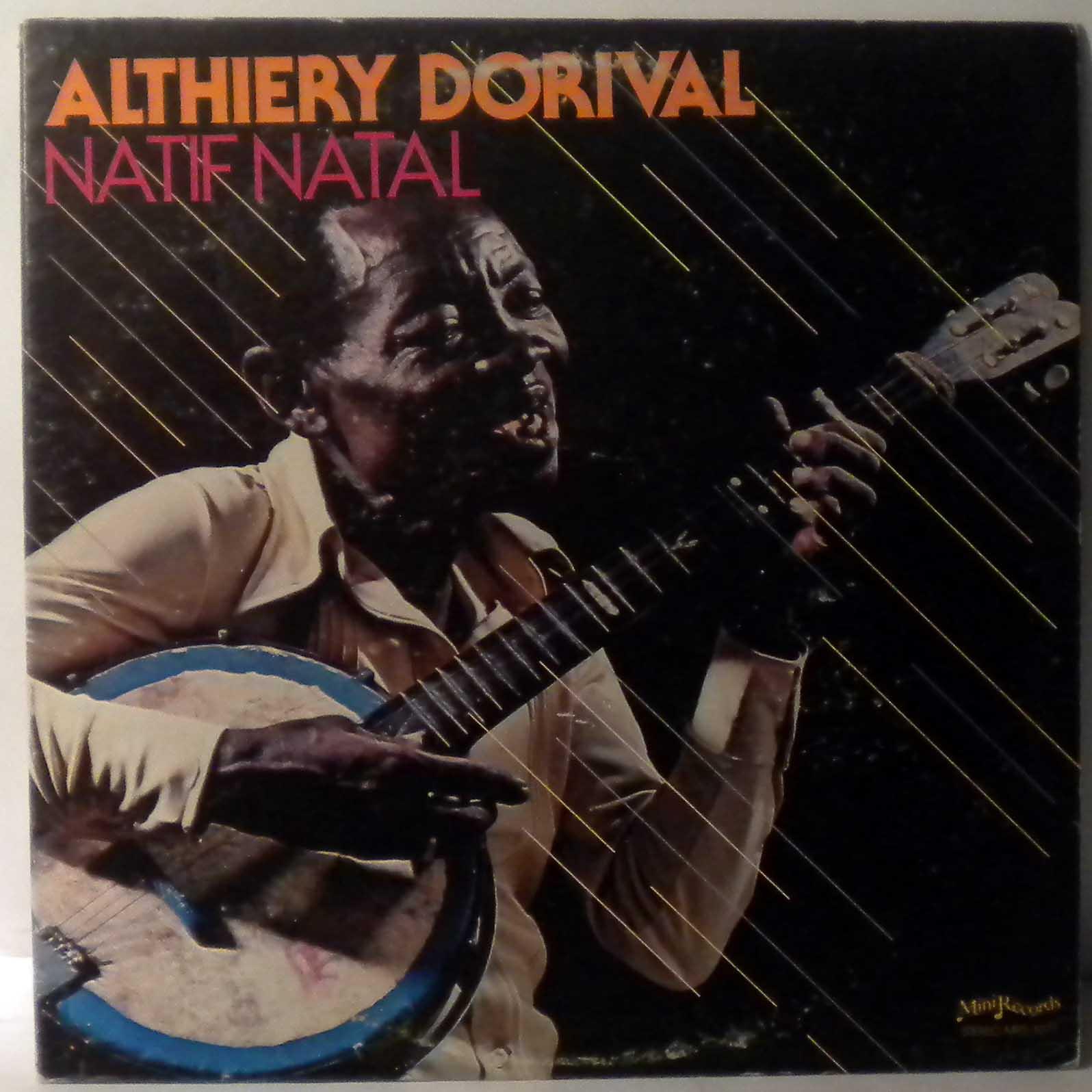 ALTHIERY DORIVAL - Natif natal - LP