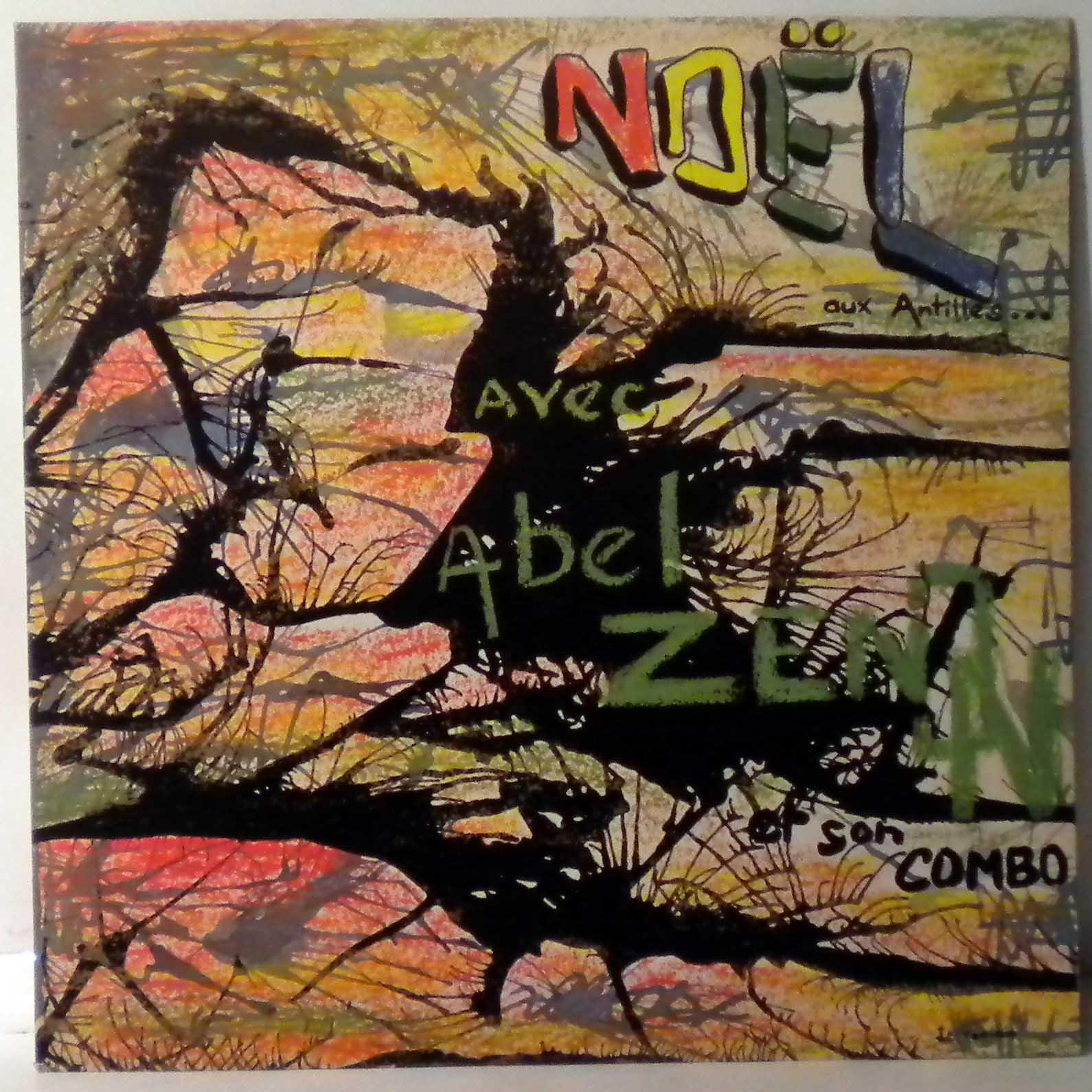 ABEL ZENON Y SU COMBO - Special Noel aux Antilles - LP