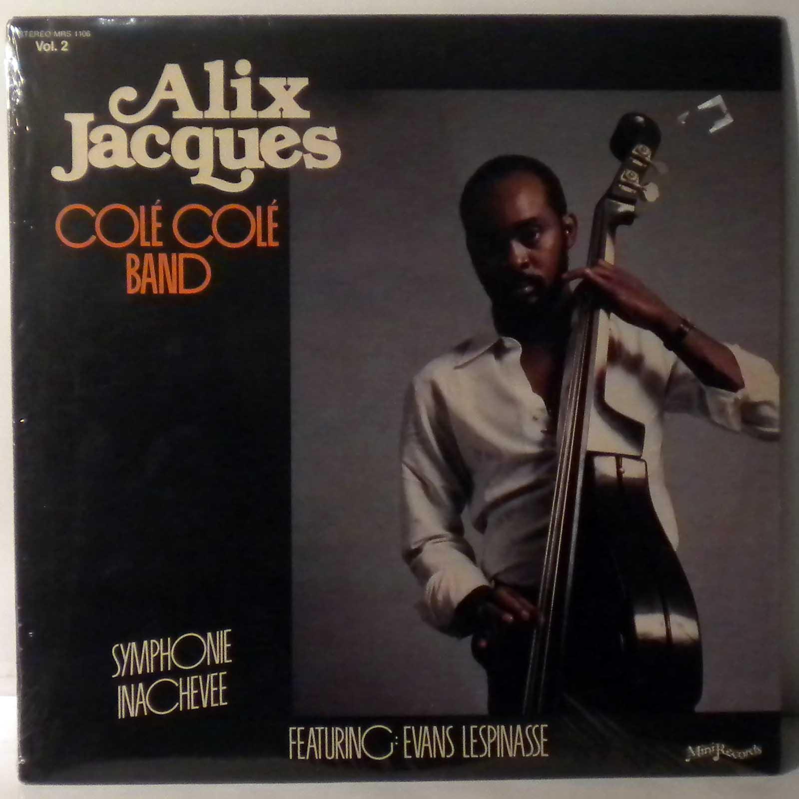 ALIX JACQUES COLE COLE BAND - Symphonie inachevee - LP