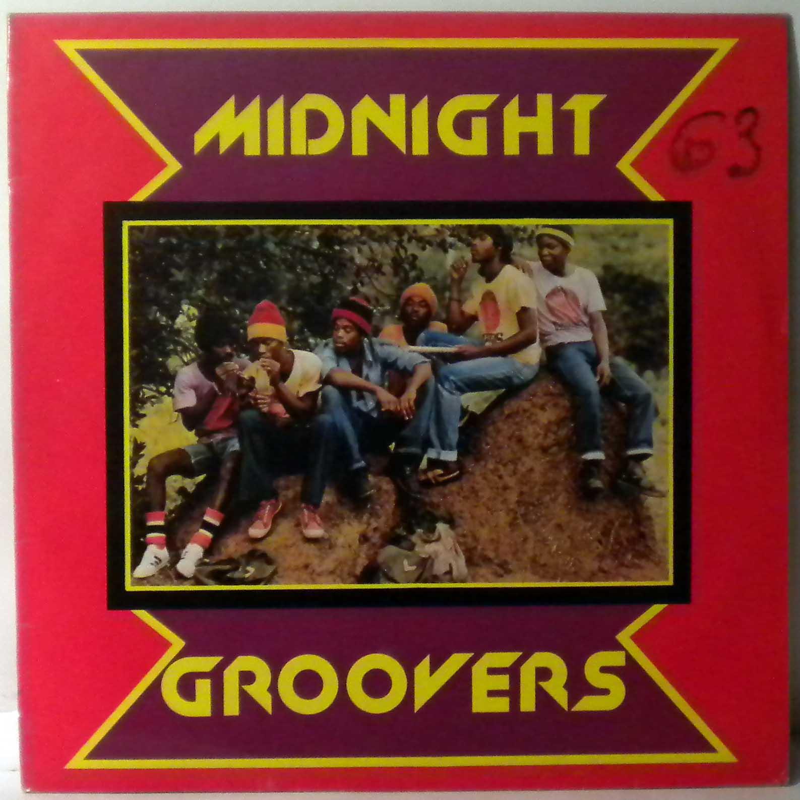 MIDNIGHT GROOVERS - Same - LP