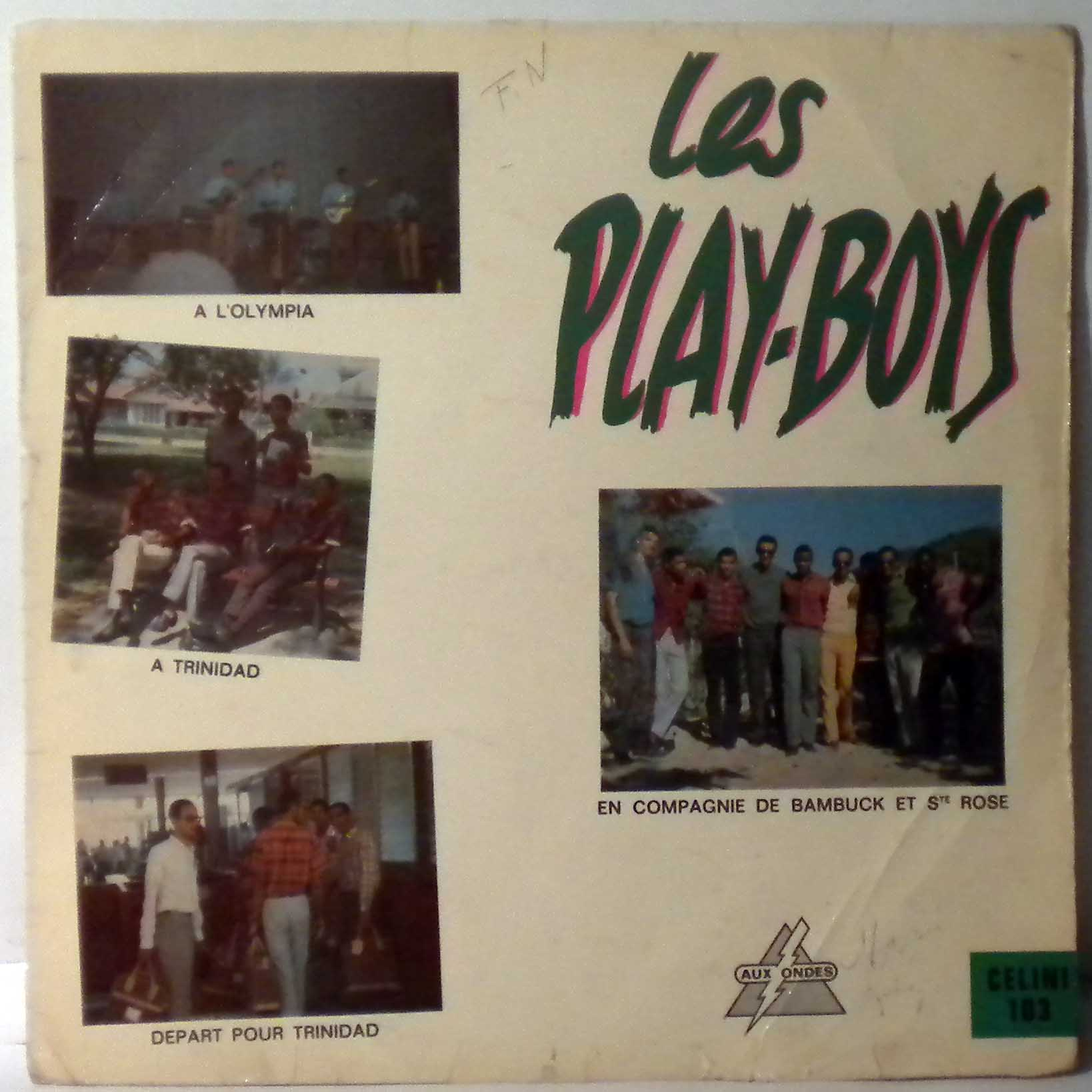 LES PLAY-BOYS - Same - 33T