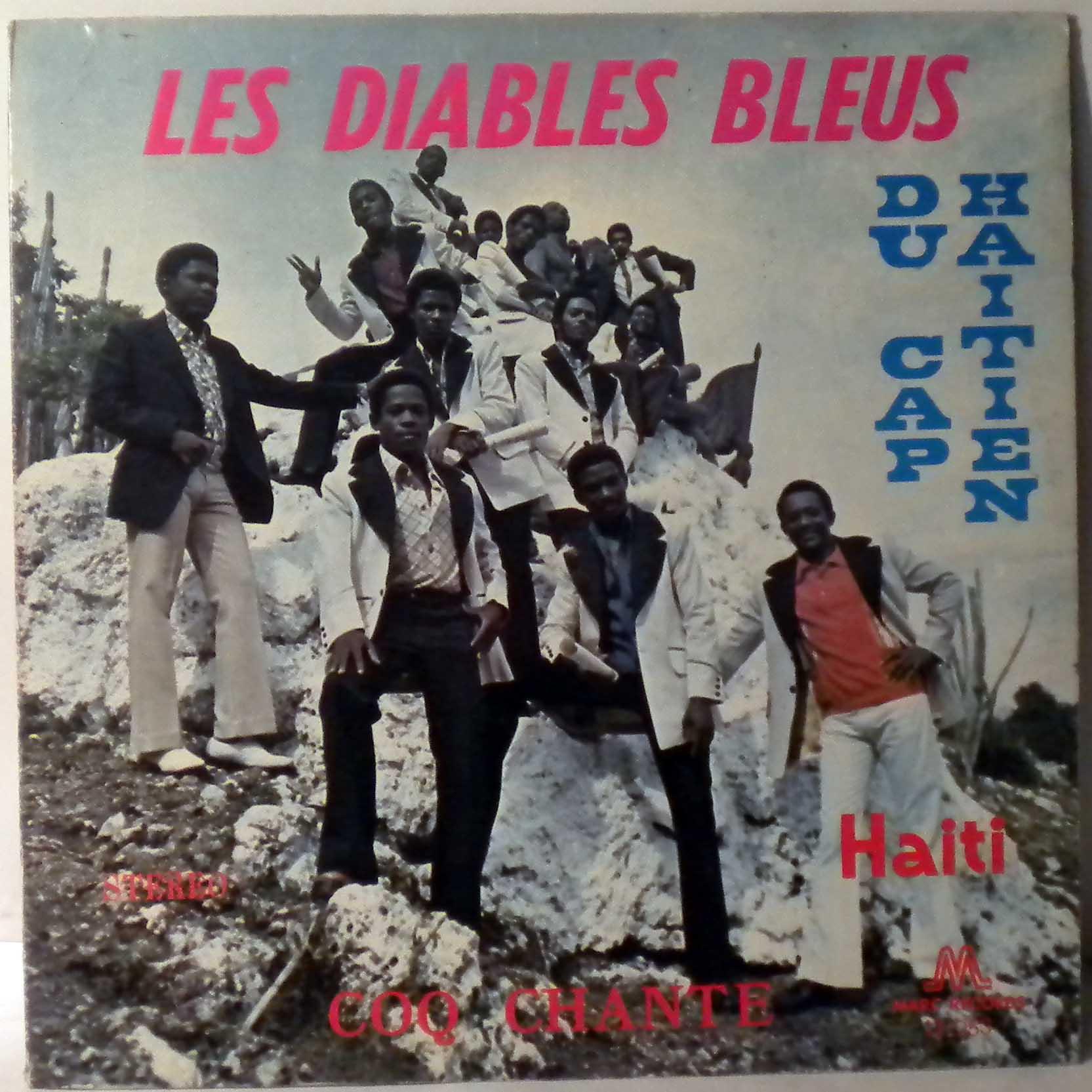 LES DIABLES BLEUS DU CAP HAITIEN - Coq chante - 33T