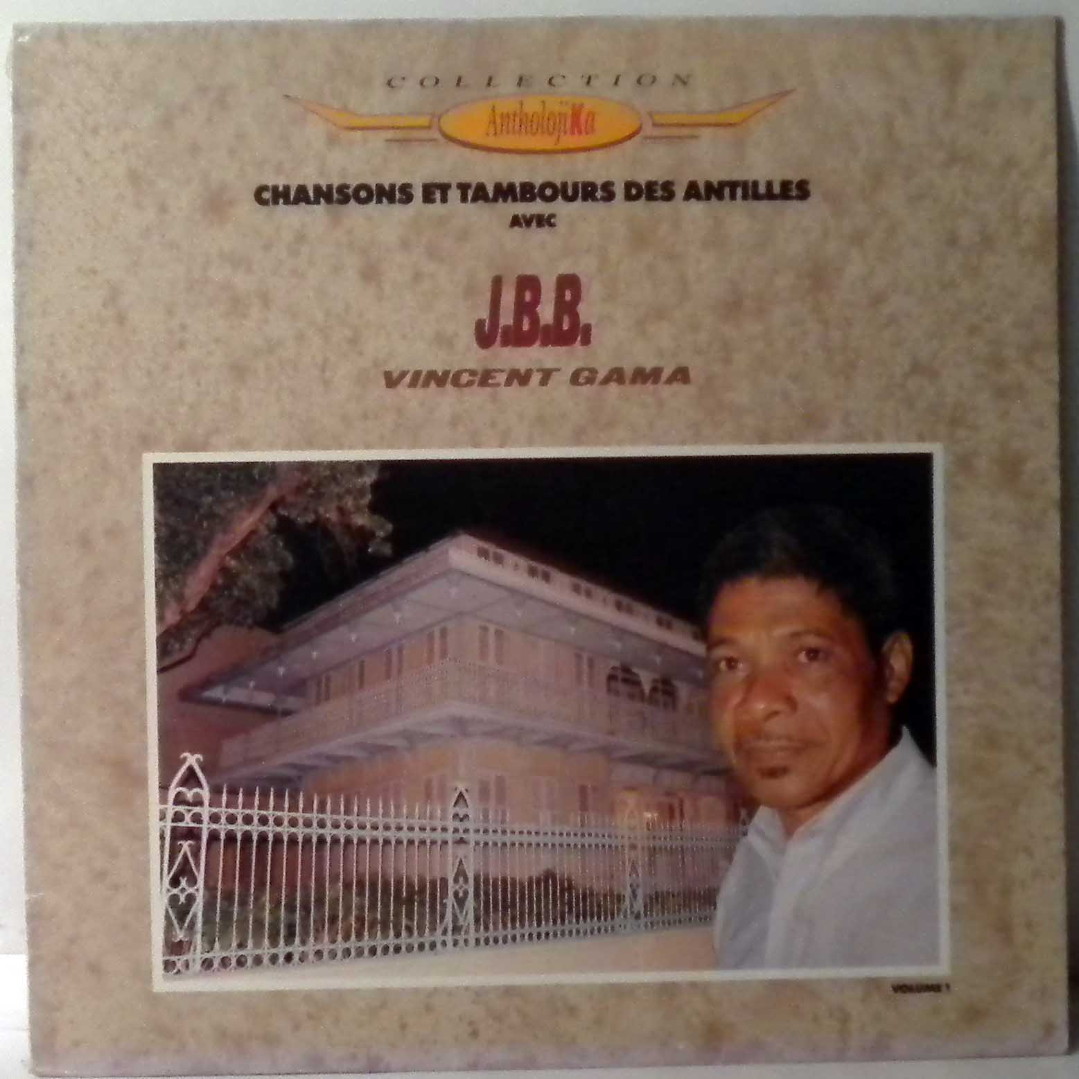 J.B.B. - Chansons et tambours des Antilles - LP