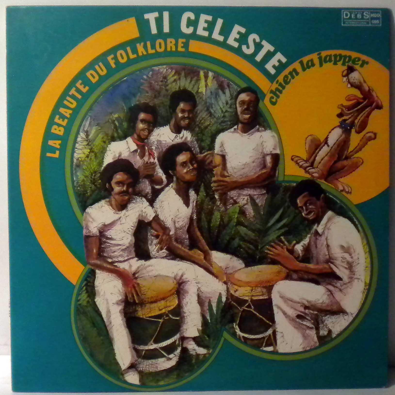 TI CELESTE - Chien La Japper - LP