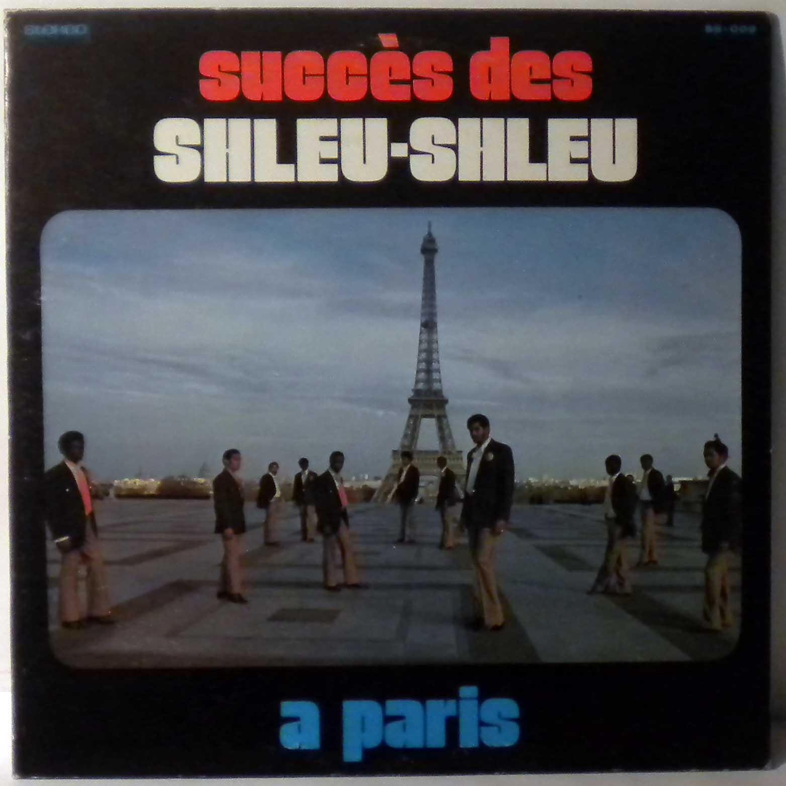 LES SHLEU SHLEU - Succes des Shleu Shleu a Paris - 33T