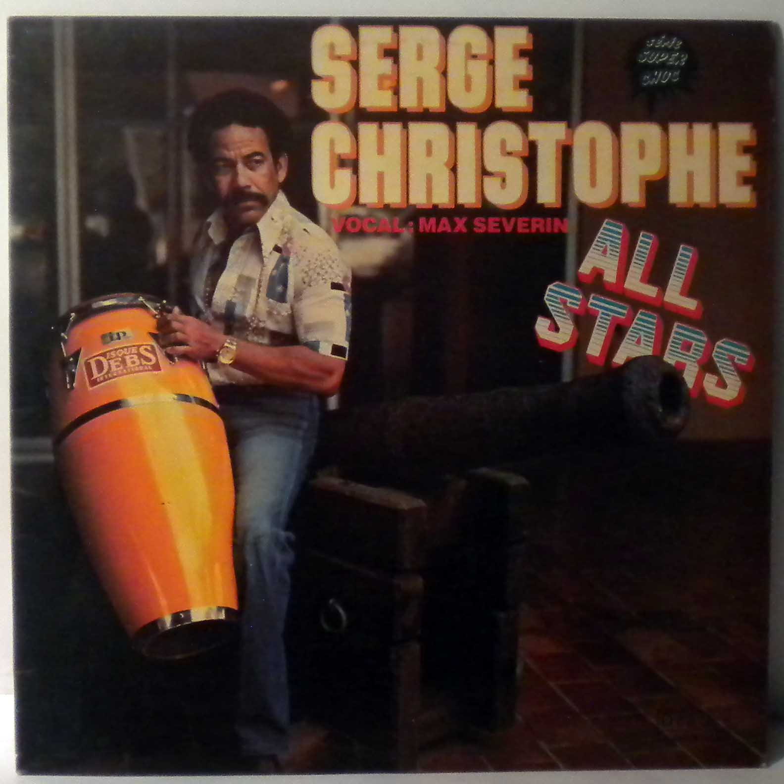 SERGE CHRISTOPHE ALL STARS - Same - LP