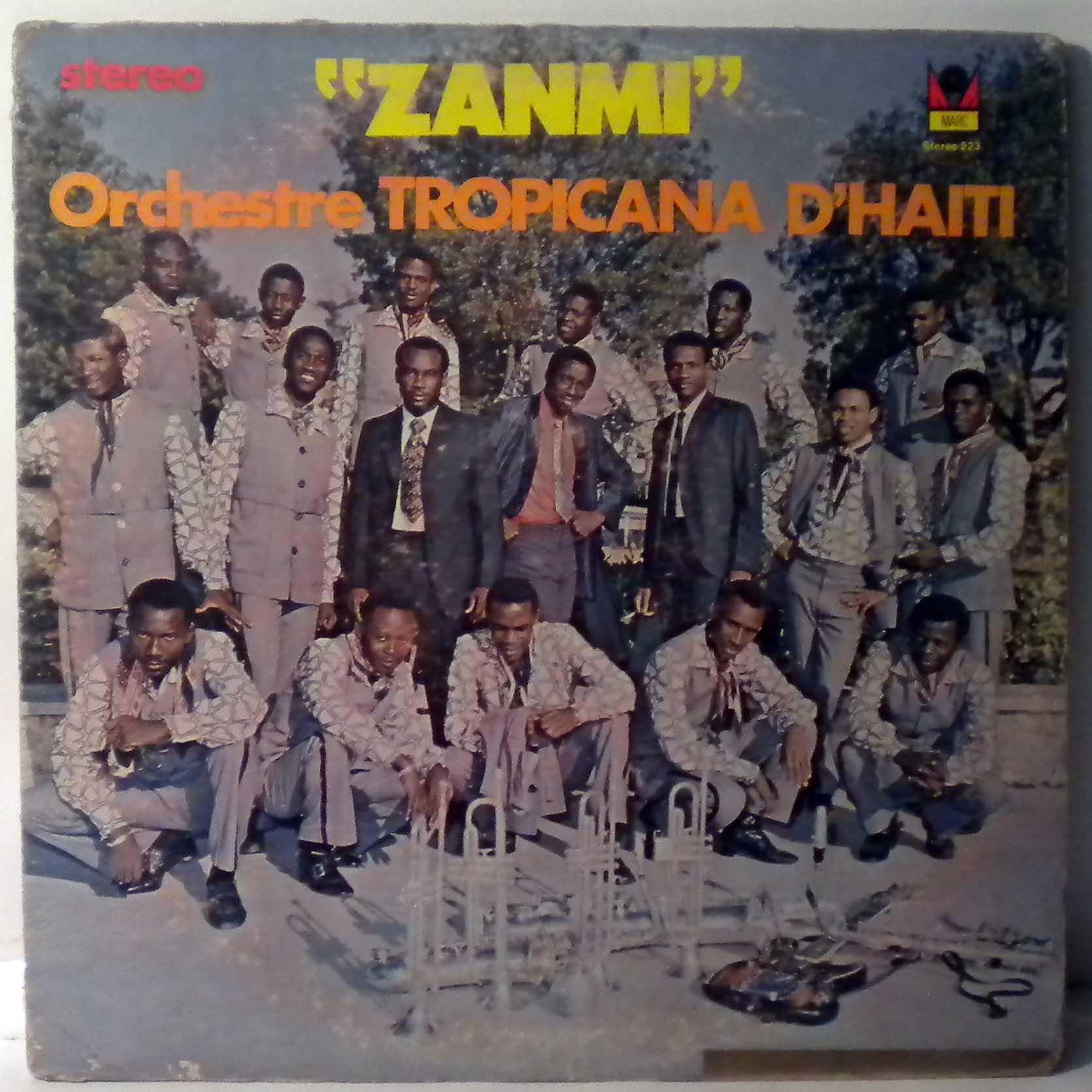 ORCHESTRE TROPICANA D'HAITI - Zanmi - LP