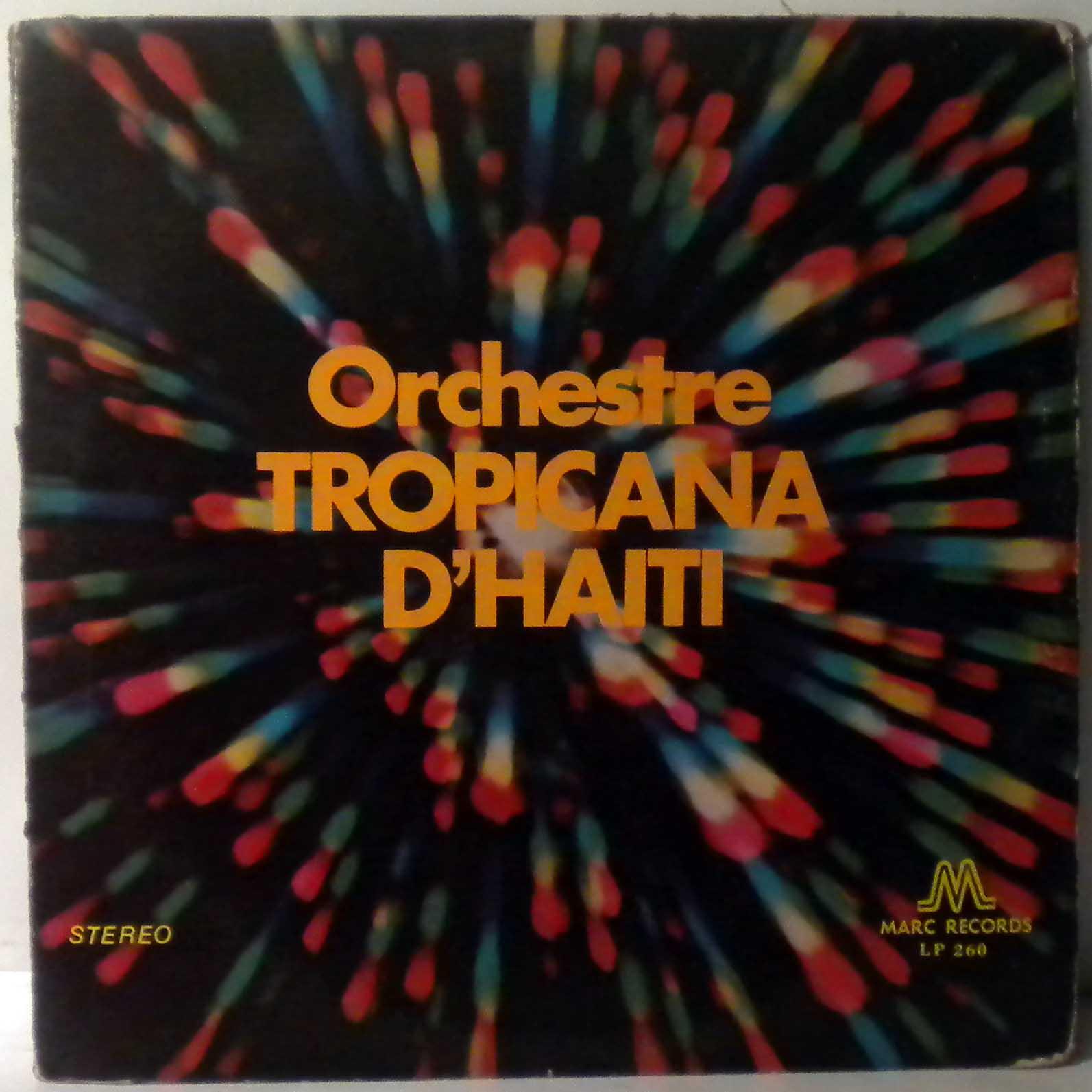 ORCHESTRE TROPICANA D'HAITI - Yolande - LP
