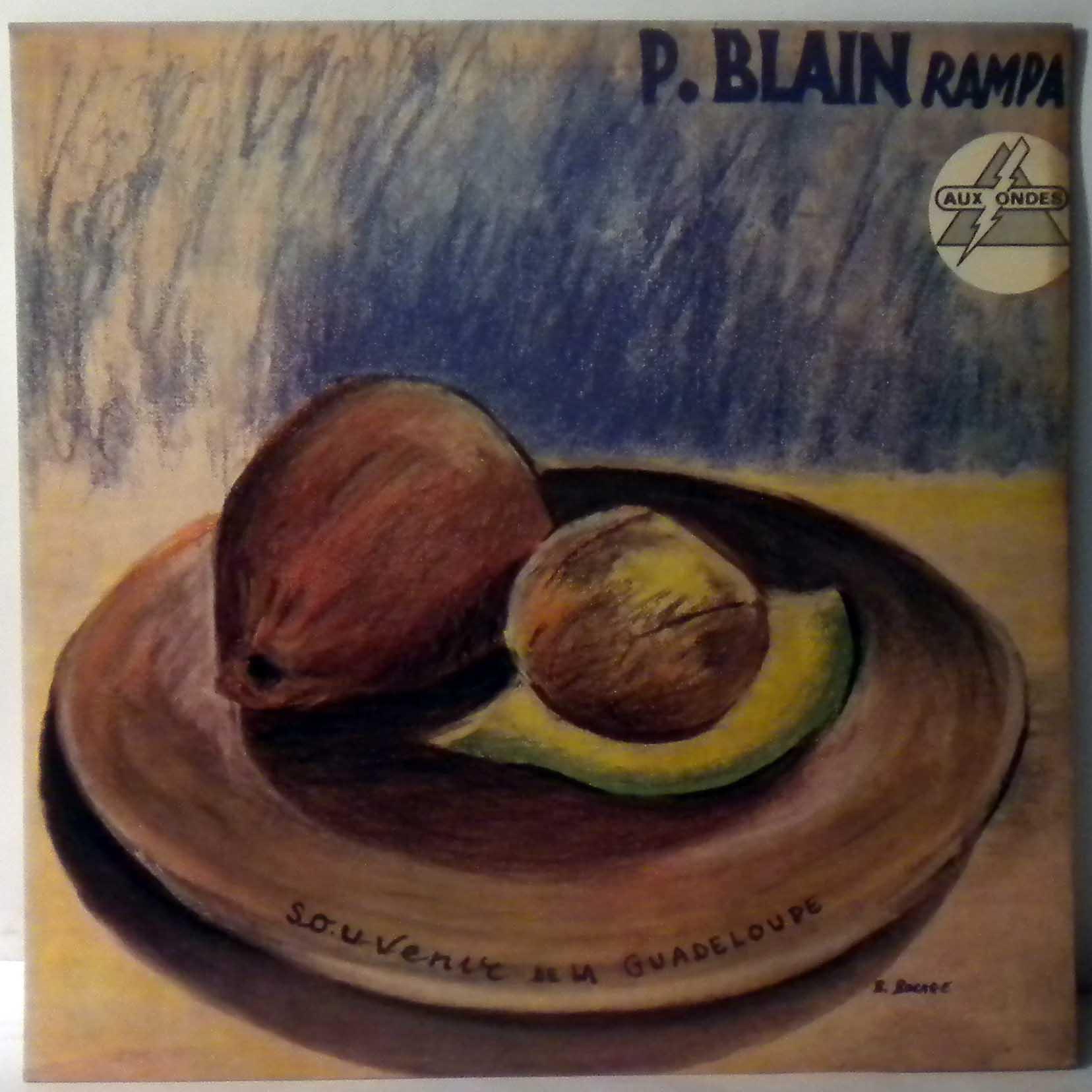 PIERRE BLAIN - Rampa - 33T