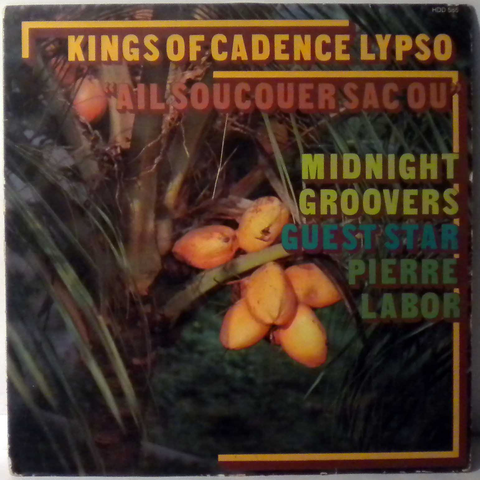 MIDNIGHT GROOVERS - Kings of Cadence Lypso - LP