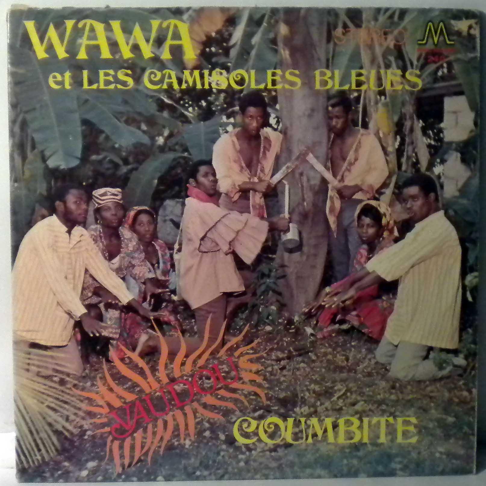 WAWA ET LES CAMISOLES BLEUES - Vaudou coumbite - LP