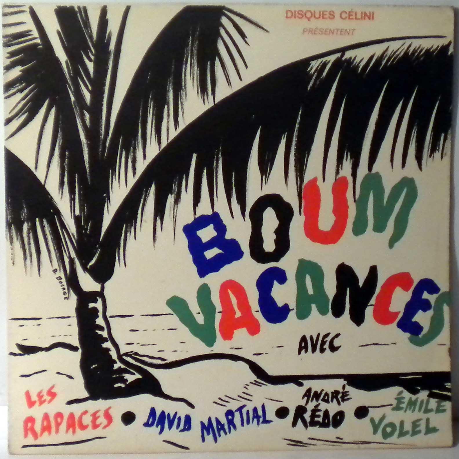 VARIOUS - Boum Vacances - LP