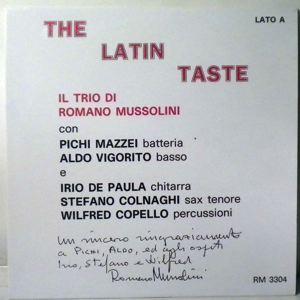 il trio di romano mussolini the latin taste