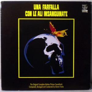 GIANNI FERRIO - Una Farfalla Con Le Ali Insanguinate - 33T x 2