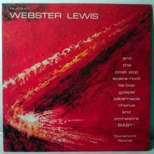 WEBSTER LEWIS - Live At Club 7 - 33T