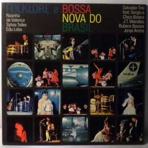 VARIOUS - Folklore E Bossa Nova Do Brasil - LP