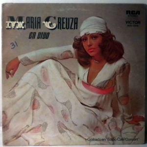 MARIA CREUZA - En Vivo - LP