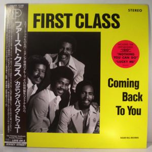 FIRST CLASS - Coming back to you - 33T