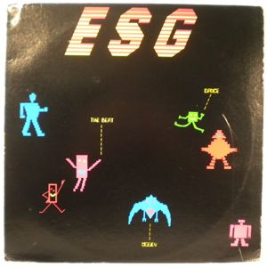ESG - Says dance to the beat of moody - LP