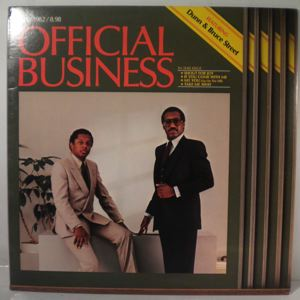 DUNN AND BRUCE STREET - Official business - 33T