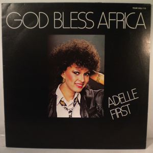 ADELLE FIRST - God bless Africa - LP