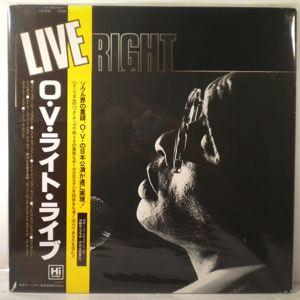 O.V. WRIGHT - Live - 33T