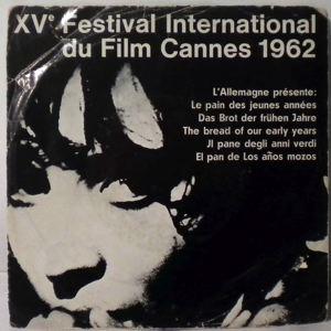 ATTILA ZOLLER - Le Pain Des Jeunes Annees (Xve Festival International Du Film Cannes 1962) - 7inch (SP)