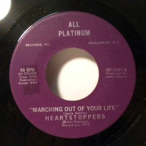HEARTSTOPPERS - Marching Out Of Your Life - 45T (SP 2 titres)