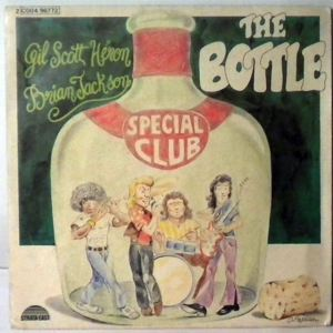 GIL SCOTT HERON BRIAN JACKSON - The Bottle - 45T (SP 2 titres)