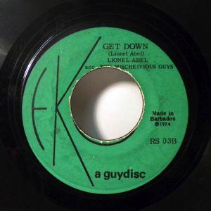 LIONEL ABEL - Get Down / Lonely Man - 45T (SP 2 titres)