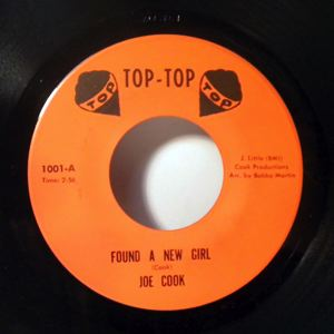 JOE COOK - Found A New Girl - 45T (SP 2 titres)